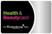 Superdrug Health & Beauty Card