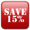 15% sale at Harveys Furniture Store
