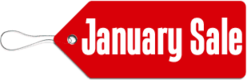 January Sales Logo