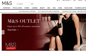 Preview 3 of the Marks & Spencer website