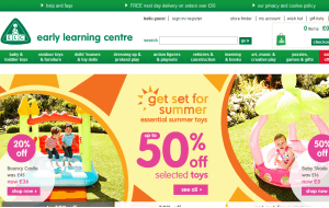 Preview 3 of the Early Learning Centre website