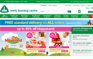 Preview 2 of the Early Learning Centre website