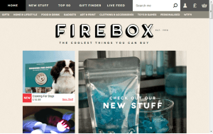 Preview 3 of the Firebox website