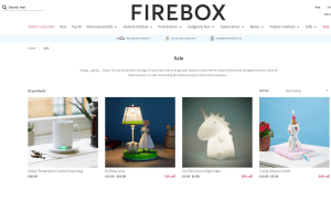 Preview 4 of the Firebox website