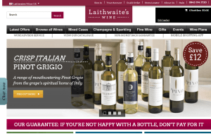 Preview 3 of the Laithwaites website