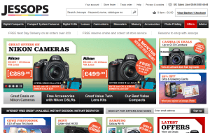 Preview 3 of the Jessops website