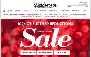 Preview 4 of the Kaleidoscope website