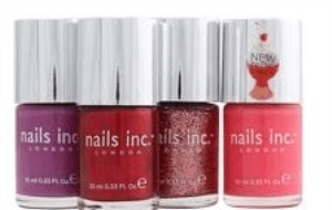 Preview 2 of the Nails Inc website