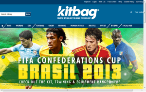 Preview 3 of the Kitbag website