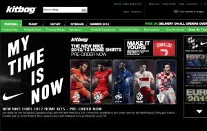 Preview 2 of the Kitbag website