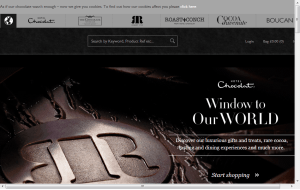 Preview 3 of the Hotel Chocolat website