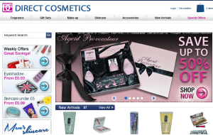 Preview 3 of the Direct Cosmetics website