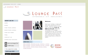 Preview 3 of the Lounge Pass website