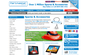 Preview 2 of the Partmaster website