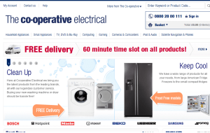 Preview 3 of the Co-op Electrical Shop website