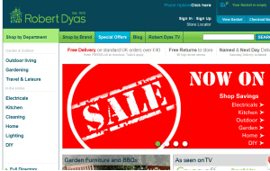 Preview 3 of the Robert Dyas website
