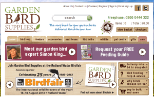 Preview 3 of the Garden Bird website
