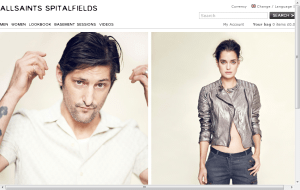 Preview 2 of the All Saints website