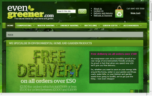 Preview 3 of the Evengreener website