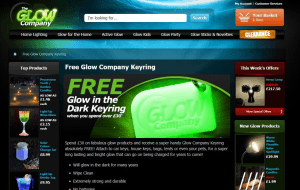 Preview 4 of the Glow Company website