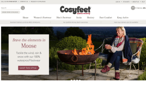 Preview 2 of the Cosyfeet website