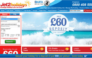 Preview 3 of the Jet2Holidays website