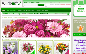 Preview 3 of the Value Flora website