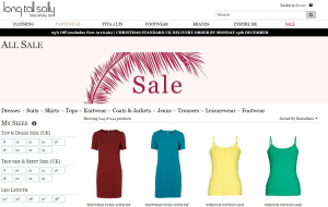 Preview 3 of the Long Tall Sally website