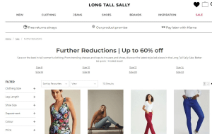 Preview 2 of the Long Tall Sally website