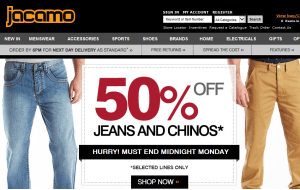 Preview 2 of the Jacamo website