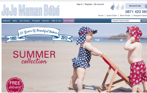Preview 3 of the Jo Jo Maman Bebe website