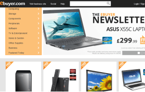 Preview 3 of the eBuyer website