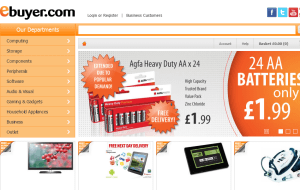 Preview 2 of the eBuyer website