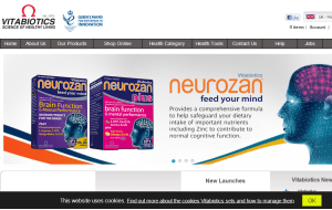 Preview 3 of the Vitabiotics website