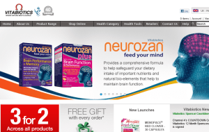 Preview 2 of the Vitabiotics website