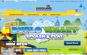 Preview 3 of the Legoland Windsor website