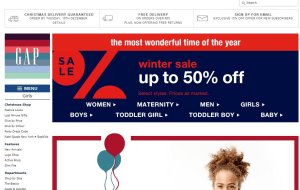 Preview 2 of the GAP website
