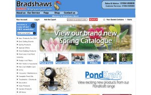 Preview 2 of the Bradshaws Direct website