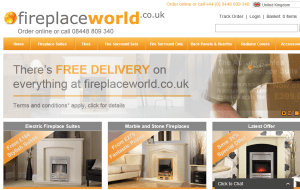 Preview 3 of the Fireplace World website