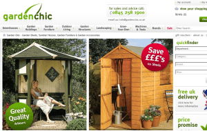 Preview 3 of the Garden Chic website