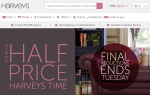 15 Off With Harveys Furniture Store Discount Voucher Codes Free