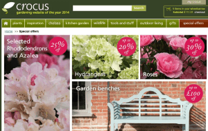 Preview 2 of the Crocus website