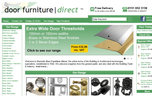 Preview 3 of the Bernards Door Furniture Direct website