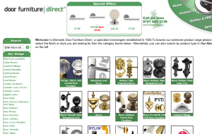 Preview 2 of the Bernards Door Furniture Direct website