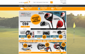 Preview 2 of the Online Golf website