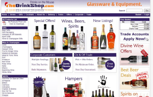 Preview 3 of the The Drink Shop website