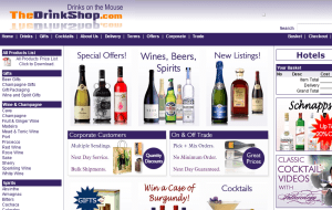 Preview 2 of the The Drink Shop website