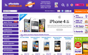 Preview 2 of the Affordable Mobiles website