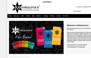 Preview 3 of the Montezumas website