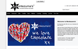 Preview 2 of the Montezumas website
